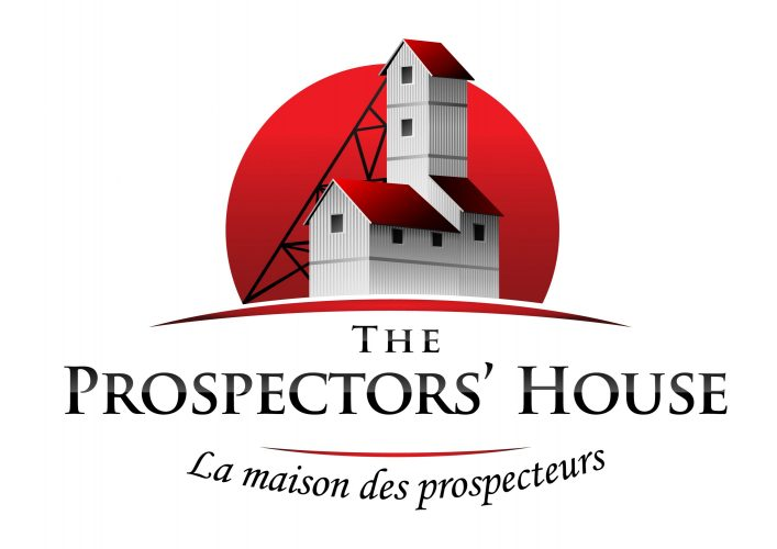 The Prospector's House logo. Part of the Presidents' Suites in Haileybury / Logo de la Maison des prospecteurs. La maison fait partie des Suites des Présidents à Témiskaming Shores
