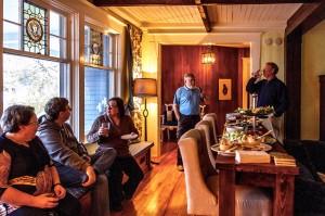 Corporate cocktail at the Lumber Baron's House / Cocktail corporatif à la Maison des barons forestiers