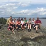Team Building Activity at Devil's Rock