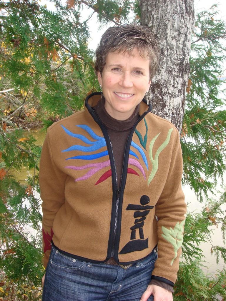 Nicole Guertin owner of the Presidents' Suites - propriétaire des Suites des Présidents