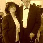 One of the Cobalt era millionaire and his wife present at the historical evening / Un des millionaires de la ruée de l'argent de Cobalt avec sa femme à la soirée historique
