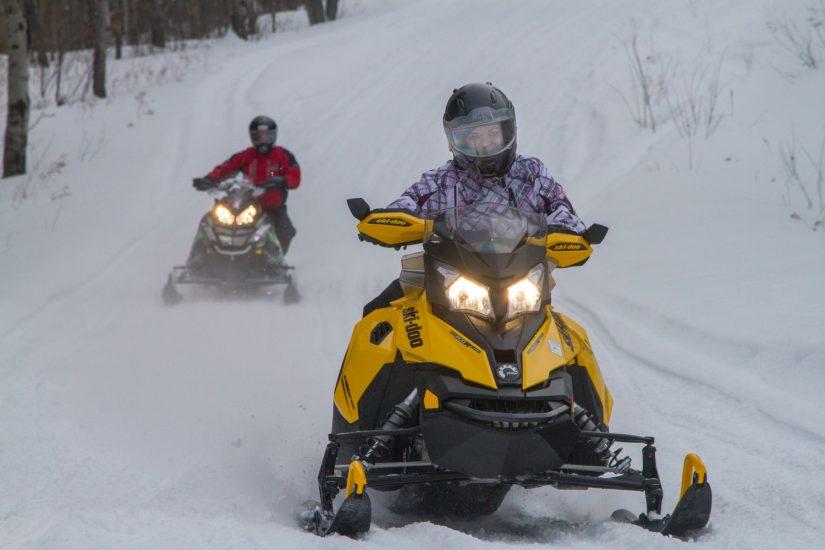 Motorcycle Snowmobile Loops