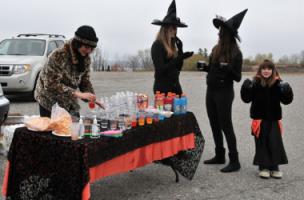 Haunted Hustle Volunteers Temiskaming Shores