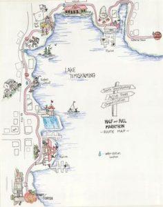 Haunted Hustle Map Temiskaming Shores