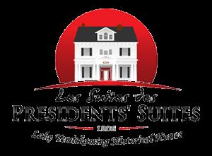 Presidents' Suites resort logo. Vacation Rentals in Northern Ontario - Temiskaming Shores / Le logo des Suites des Présidents