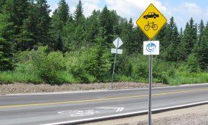 Recre-eau des Quinze Paved Cycling Road