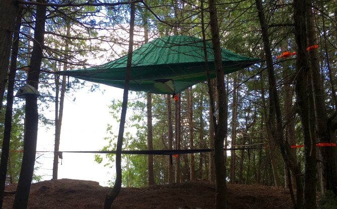 Treehouse Glamping on Farr Island