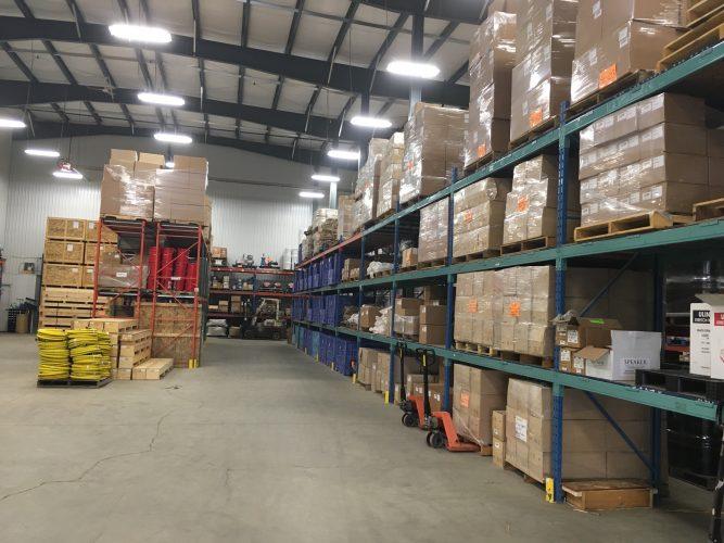 TIME Distribution Warehouse