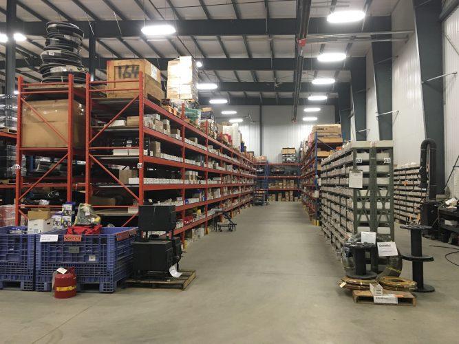 TIME Haileybury Warehouse