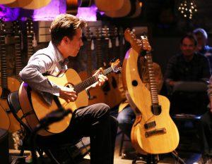 Jamie Dupuis in concert in Hamilton