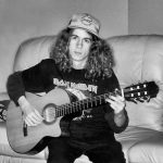 Jamie Dupuis at 15 years old. At the time he was inspired by rock and metal music.