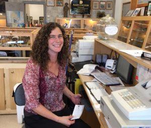 Cobalt Mining Museum Staff - Felicity Bucknell
