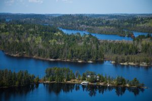 View from the Temagami Fire Tower