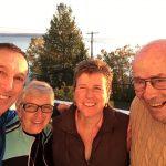 Our team for our one-day version of the Lake Temiskaming fall tour / notre équipe pour le tour d'automne du lac Témiskaming