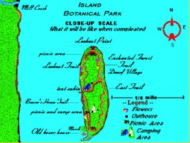 Jean Paull's vision for a botanical park on Farr Island