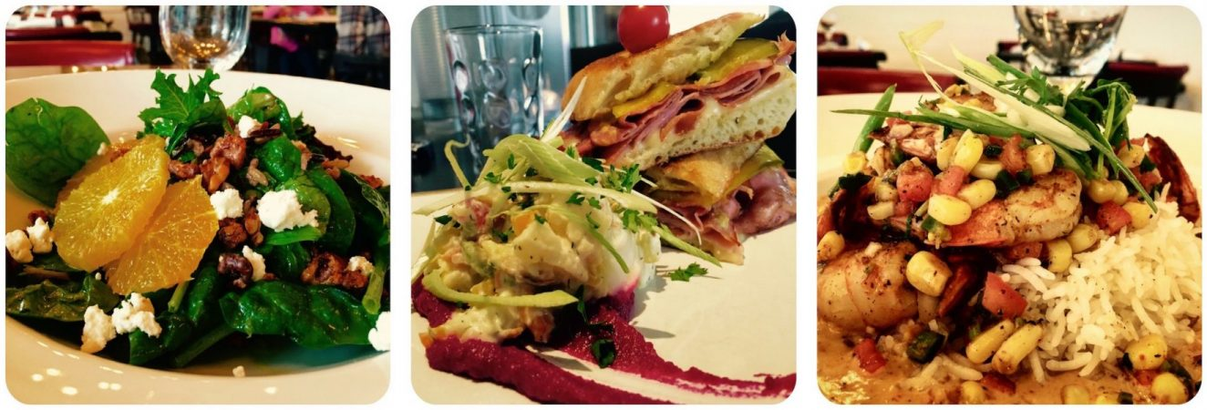 Local Healthy Food offered at Cafe Meteor Bistro