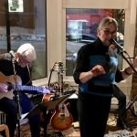 Jean Racine at Cafe Meteor Bistro from Rouyn-Noranda