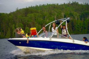 Boating on Lake Temiskaming