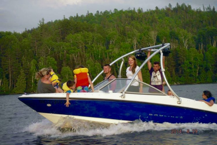 Boating on Lake Temiskaming
