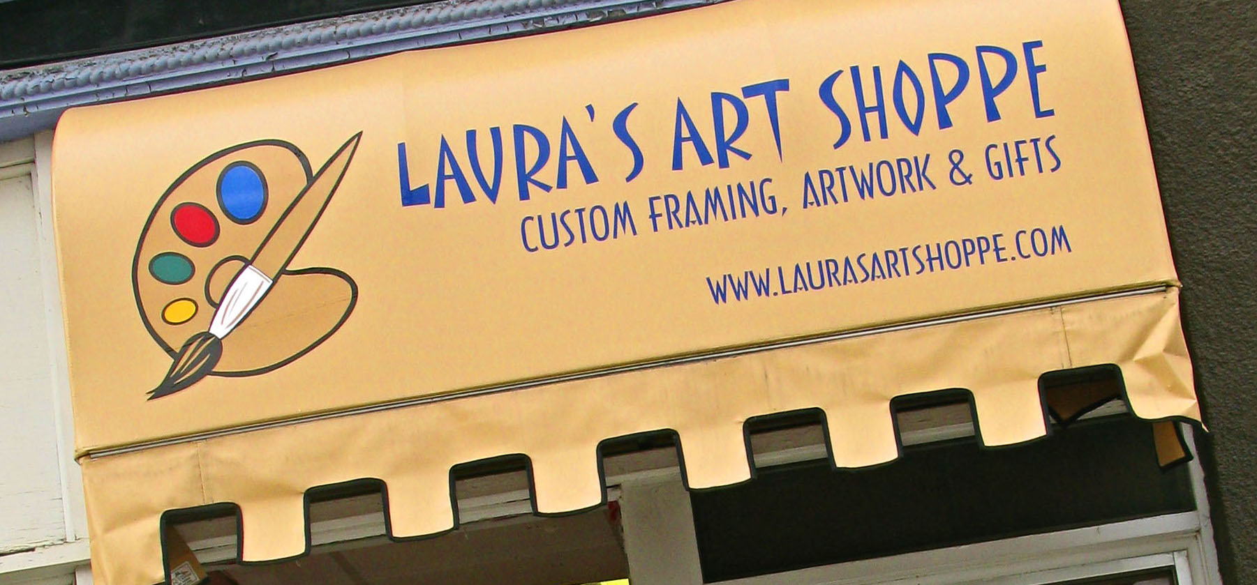 Laura's Art Shoppe located downtown Cobalt