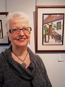 Laura Landers a local artist from the Temiskaming region.