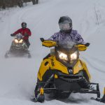 Snowmobile vacation getaway in Temiskaming region