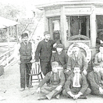 Meteor crew around 1894