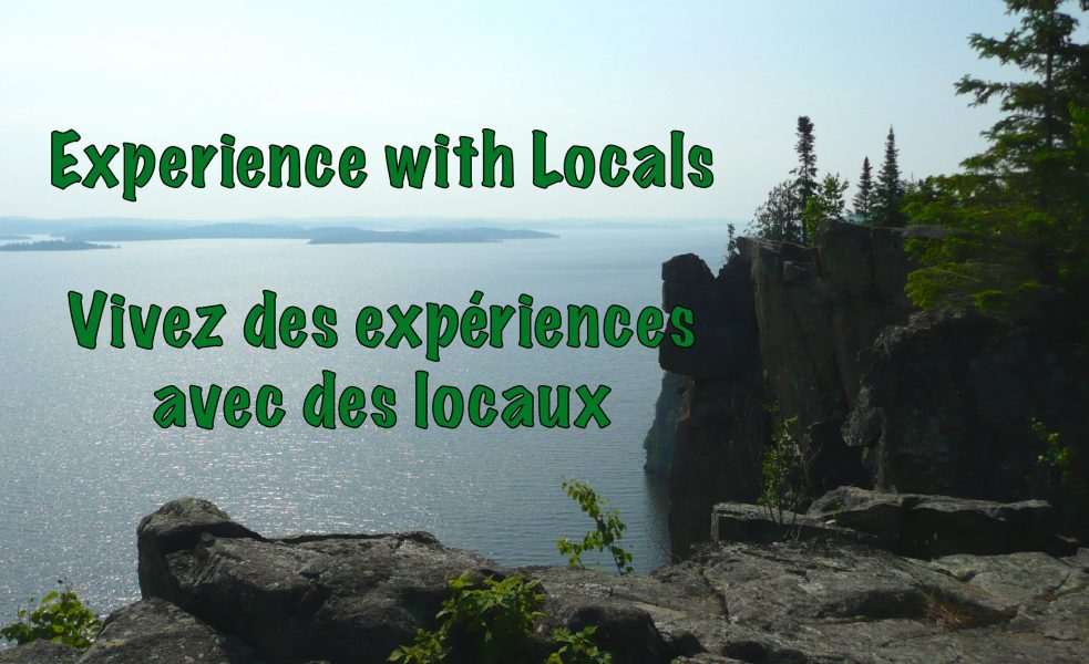 Temiskaming Experience. Great tourism experiences with locals in the Temiskaming region
