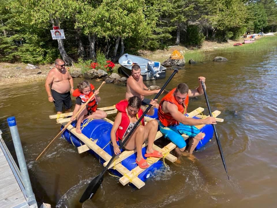 Building your raft team building activity
