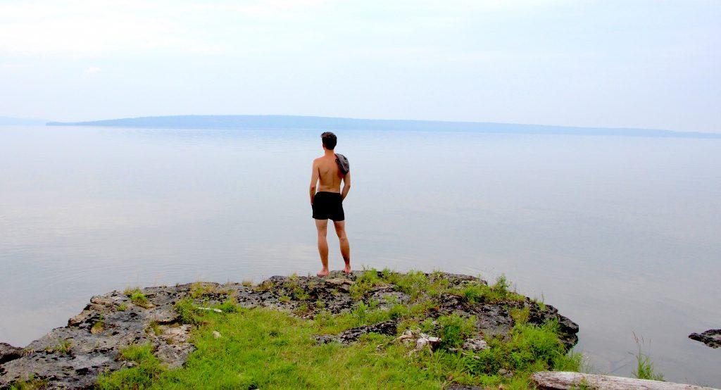 LGBTQ community glamping on Farr Island